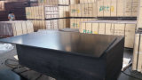 Recicl o material de construção Shuttering enfrentado película da madeira compensada do preto do núcleo do Poplar (21X1250X2500mm)
