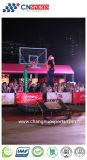 Напольная Si-PU баскетбольная площадка, суд спортов деревянной картины текстуры