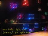 La miscela completa colora l'indicatore luminoso della tenda di visione del LED, fornitore dell'indicatore luminoso della tenda di RGB della video tenda del LED video