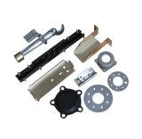 El aluminio anodizado auto del laminado del cinc que estampaba piezas modificó piezas de metal para requisitos particulares