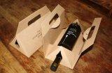 敏感で堅いペーパーカスタムワインの包装ボックス