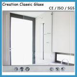 Specchio di alluminio dell'argento del cerchio dello specchio per l'hotel con il bordo smussato
