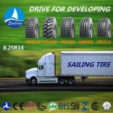 radial lourd de bus du camion 8.25r16 tout le pneu en acier