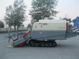 4lz-4.0z Full Feed Rice Wheat Big Tank Combine Harvester