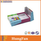 Rectángulo de papel de lujo de embalaje del regalo de la cartulina del estilo abierto de la puerta
