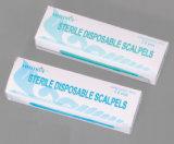 CE/ISO 승인되는 메마른 처분할 수 있는 Scalpel 탄소 강철 (MT58050001)
