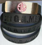 Bracelet imperméable à l'eau coloré de bracelet populaire meilleur marché de Silicn