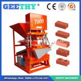 Eco Mater 7000自動タイの土の連結の煉瓦機械