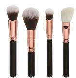 Escovas douradas luxuosas profissionais da composição de Rosa (JDK-FBS-956)