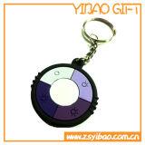 Keychain en PVC de haute qualité pour articles promotionnels (YB-k-004)
