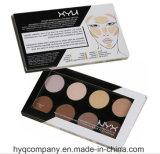 Paleta duradouro e impermeável da paleta de venda quente da sombra das cores de Nyx 8 de olho da sombra