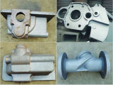 Cast Iron Sand Pump Body Part Casting with CNC Machining