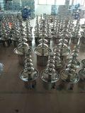 Schokoladen-doppelte Brunnen-Fondue-Maschine 6 sechs Reihe-Edelstahl für Buffet