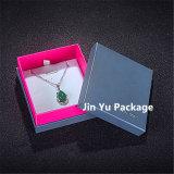La caisse d'emballage la meilleur marché de bijou de papier de carton pour la boucle, collier, boucle d'oreille