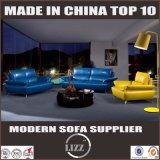 Sofá secional de estilo chinês Lizz Sofá de couro real