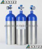 Bottiglia vuota di alluminio dell'ossigeno medico