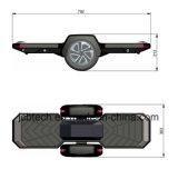 LEDとのHoverboardのバランスをとっている2つの車輪の自己