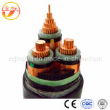 Cabo de Power/PVC/PE/XLPE/Copper/Insulated/Copper/Rubber
