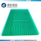 Strato di plastica variopinto della cavità del policarbonato dello strato di alta qualità per la serra