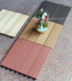 Tuiles composées en plastique en bois du Decking DIY d'approvisionnement