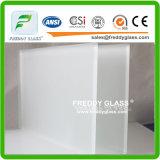 O único ou tamanho dobro sobre a Não-Figura vidro geado do espaço livre da cópia/ácido desobstruído gravou o vidro