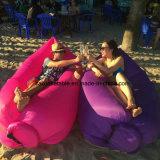 2017 Popular portátil inflable Lamzac Hangout / Lamzac aire del saco de dormir / Lamzac Laybag / Lamzac Tumbona de playa, camping, senderismo