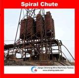 O separador espiral para a separação de minerais