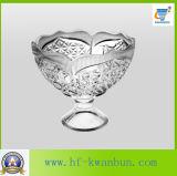 Cristalería dulce Kb-Hn0151 del tazón de fuente del caramelo del tazón de fuente de cristal del helado