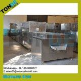 Máquina de acero inoxidable industrial del túnel de secado de microondas de Alimentos