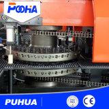 Macchina per forare di acciaio della lamiera della torretta meccanica di CNC
