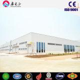 Oficina da construção de aço do baixo custo/armazém pré-fabricados (SSWW-16079)