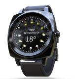 1.2 reloj elegante de la pantalla táctil del IPS de la pulgada IP54 con las vendas duales Bluetooth y ritmo cardíaco, supervisión del sueño y procesador dinámicos de la gravedad