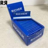 Un papel 100% de balanceo más rico del tabaco de cigarrillo del cáñamo del SGS 14GSM del Fsc con extremidades de filtro