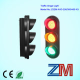 Vente directe d'usine LED Traffic Light / occasion Traffic Light Vente / Forme ronde Solar Light