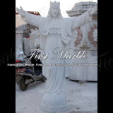 Marmeren Standbeeld Mej.-293 van Carrara van het Standbeeld van het Graniet van het Standbeeld van de Steen van het Standbeeld Wit