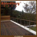 Einfacher Entwurfs-Seite eingehangenes Edelstahl-Treppen-Geländer (SJ-H1321)