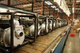 Vergasermotor schielt das 3 Zoll-zentrifugale Wasser-Pumpe für Bauernhof-Bewässerung an