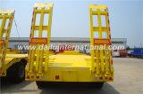 De 3 essieux de Fuwa de Lowbed de semi-remorque remorque de service semi