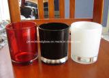 着色されたガラス奉納の蝋燭ホールダー、すべてのサイズの蝋燭のコップ