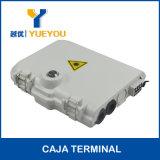 FTTX 8 Fusiones Puerto Ovalado 쪼개는 도구 1*8 Caja De Terminacion 광섬유 배급 상자