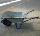 物質的な皿の庭仕事のツールの手押し車(WB6414B)が付いているGradenの一輪車