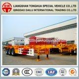 3-as de Rechte Aanhangwagen van de Vrachtwagen van de Aanhangwagen van het Skelet van de Straal 40FT Semi