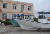 Liya 7.6m Cheap Fishing Boats Fiberglass Panga Boat para Sale