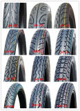 Neumáticos resistentes de Notorcycle del caucho natural con la alta calidad (2.75-17)
