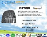 Покрышка тележки Boto сверхмощная дешевая, автобусная шина высокого качества TBR, полностью стальная радиальная автошина Bt388 315/80r22.5 тележки