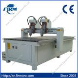 두 배 헤드 CNC 목제 절단 조각 기계 FM-1325