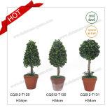 Topiary 24cm популярные пластичные искусственние и сад пирамидок Boxwood