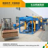 Mattone che fa macchinario, blocco automatico che fa macchina, macchina del blocchetto del cemento (QT4-15C)