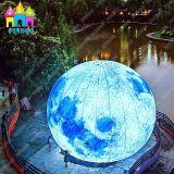 照明巨大で膨脹可能な地球の水星LEDの月を広告するFinego
