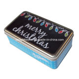 عيد ميلاد المسيح مربّعة طعام قصدير صندوق